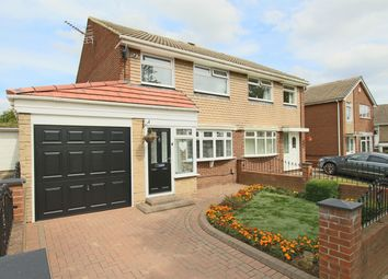 Thumbnail 3 bedroom semi-detached house for sale in Stockley Avenue, Sunderland