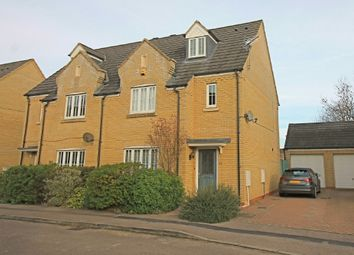 Thumbnail 4 bed town house for sale in Roman Way, Godmanchester