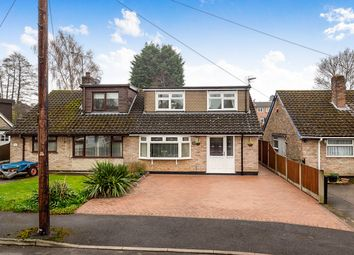 Thumbnail 3 bed bungalow for sale in Robey Drive, Eastwood, Nottingham