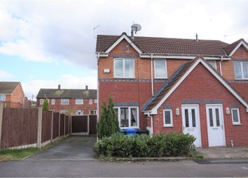 Thumbnail 3 bed semi-detached house for sale in Ravenglass Drive, Manchester
