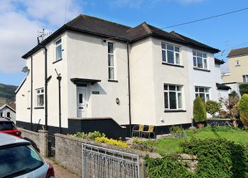 Thumbnail 3 bedroom semi-detached house for sale in Graigwen Road, Pontypridd, Rhondda, Cynon, Taff.