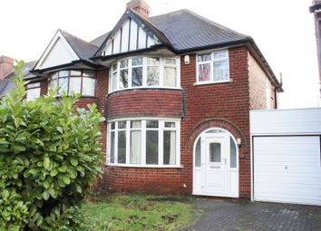 Thumbnail 3 bedroom semi-detached house for sale in Romilly Avenue, Birmingham