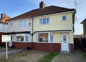 Thumbnail 3 bed semi-detached house for sale in Burnsfield Estate, Chatteris