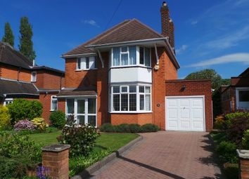 Thumbnail 3 bed detached house for sale in Barnard Road, Sutton Coldfield, West Midlands