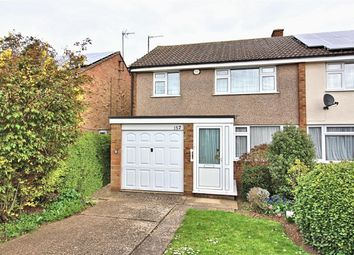 Thumbnail 3 bed semi-detached house for sale in Old Ford End Road, Bedford