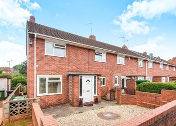 Thumbnail 3 bedroom end terrace house for sale in Brookway, Exeter