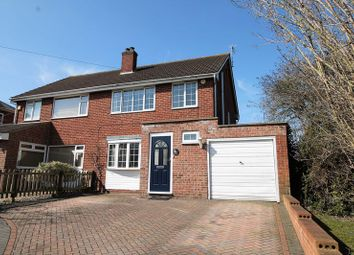 Thumbnail 3 bed semi-detached house for sale in Churchdown Lane, Hucclecote, Gloucester