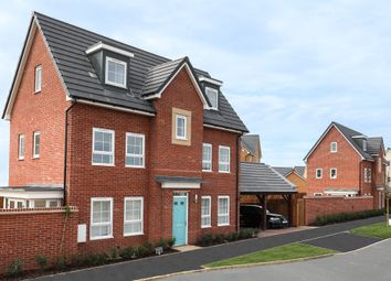 "Thumbnail 4 bedroom semi-detached house for sale in ""Hexham"" at Fen Street, Brooklands, Milton Keynes"