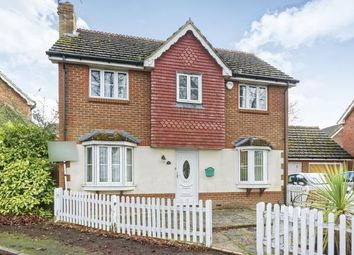Thumbnail 3 bed detached house for sale in Farnham, Surrey, Bardsley Drive