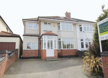 Thumbnail 5 bed semi-detached house for sale in Thingwall Hall Drive, Broadgreen, Liverpool
