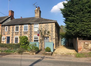 Thumbnail 1 bed end terrace house for sale in The Street, Fornham St. Martin, Bury St. Edmunds