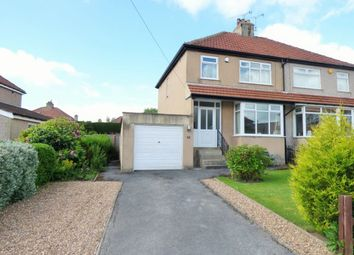 Thumbnail 3 bed semi-detached house for sale in Highfield Crescent, Baildon, Shipley