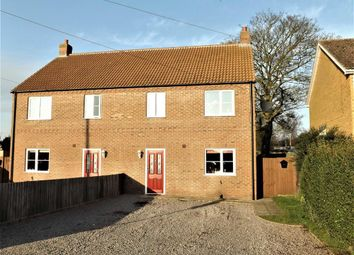 Thumbnail 3 bed semi-detached house for sale in Lincoln Avenue, Gedney Hill, Spalding
