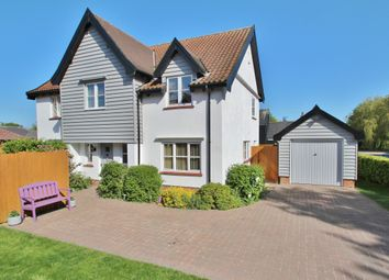 Thumbnail 4 bed detached house for sale in Combs, Stowmarket, Suffolk