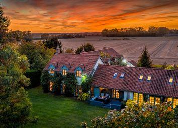 Thumbnail 5 bed farmhouse for sale in Cromer Lane, Wretton, King's Lynn, Norfolk