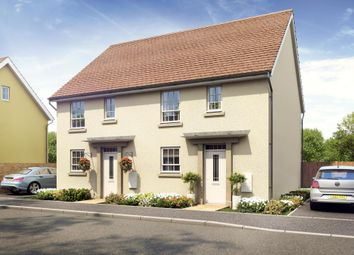 "Thumbnail 3 bed semi-detached house for sale in ""Barwick"" at Great Mead, Yeovil"