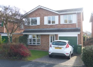 Thumbnail 4 bed detached house for sale in Nimrod Drive, Hereford