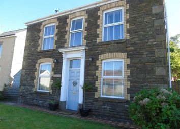 Thumbnail 4 bed detached house for sale in Station Road, Glais, Swansea