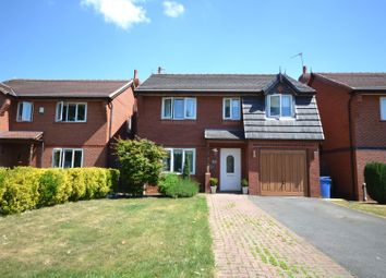 Thumbnail 4 bed detached house for sale in Millport Close, Fearnhead, Warrington