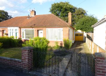 Thumbnail 2 bed detached bungalow for sale in Spinney Close, Thorpe St. Andrew, Norwich