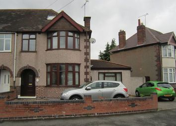 Thumbnail 3 bedroom end terrace house for sale in Capmartin Road, Radford, Coventry