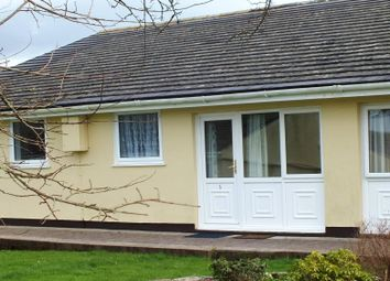 Thumbnail 2 bedroom terraced bungalow for sale in 5 Meadowside Holiday Bungalows, Manorbier, Tenby, Pembrokeshire
