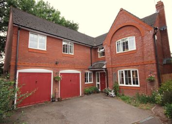 Thumbnail 5 bed detached house for sale in Willow Court, Nantwich