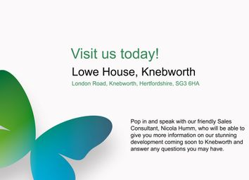 Thumbnail 1 bed property for sale in London Road, Knebworth