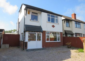 Thumbnail 3 bed detached house for sale in The Cross, Hoylake Road, Moreton, Wirral