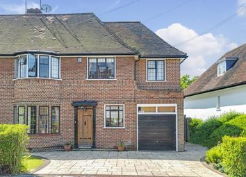 Thumbnail 5 bed semi-detached house for sale in Vivian Way, Hampstead Garden Suburb, London