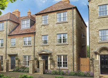 "Thumbnail 3 bed town house for sale in ""Belbury - Plots 115 113"" at Empingham Road, Stamford"