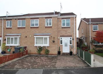 Thumbnail 3 bed semi-detached house for sale in Belfmoor Close, Whitwell, Worksop