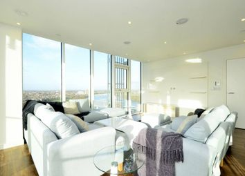 Thumbnail 3 bed flat for sale in Enterprise Way, Wandsworth