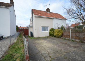 Thumbnail 1 bedroom semi-detached house for sale in Knights Road, Norwich, Norfolk