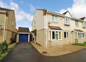 Thumbnail 4 bed semi-detached house for sale in Godwin Road, Stratone Village, Wiltshire