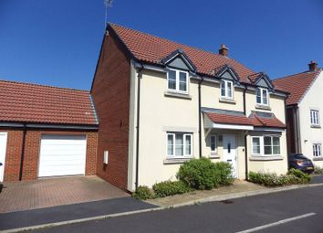 Thumbnail 4 bed detached house to rent in John St. Quinton Close, Stoke Gifford, Bristol