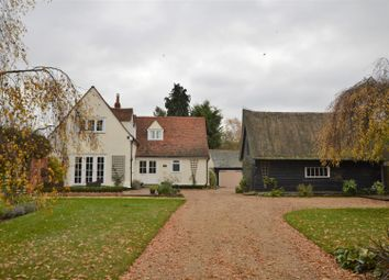 Thumbnail 4 bed detached house for sale in Wick Road, Langham, Colchester