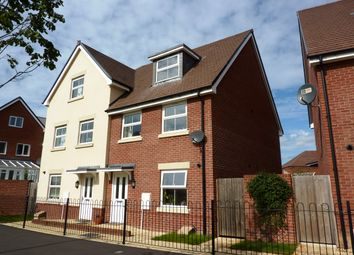 Thumbnail 3 bed semi-detached house to rent in Olympic Park Road, Andover