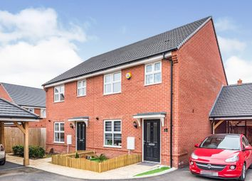 Thumbnail 3 bed semi-detached house for sale in Blackthorn Road, Andover