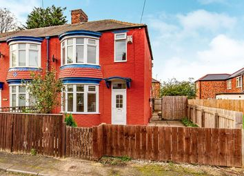Thumbnail 3 bed semi-detached house to rent in Nesham Avenue, Middlesbrough