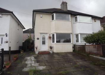 Thumbnail 2 bed semi-detached house for sale in Walkers Lane, Little Sutton, Ellesmere Port