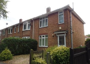 Thumbnail 3 bed end terrace house for sale in Cadge Road, Norwich