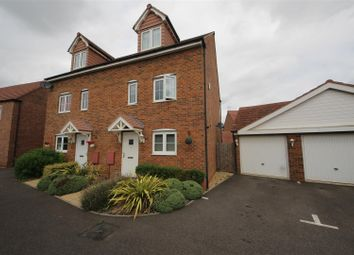 Thumbnail 4 bed semi-detached house for sale in Skye Close, Alwalton, Peterborough
