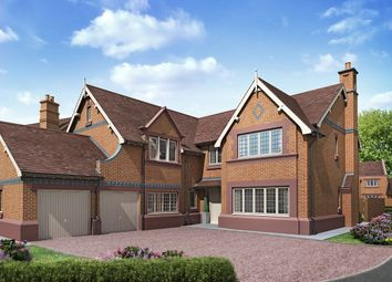 Thumbnail 5 bed detached house for sale in The Normande At Stretton Green, Stretton Green, Tilston, Cheshire