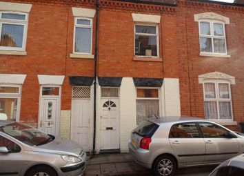 Thumbnail 2 bedroom terraced house for sale in Chandos Street, Off St Peters Road, Leicester