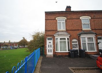 Thumbnail 3 bed end terrace house for sale in Redvers Road, Small Heath, Birmingham