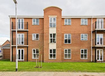Thumbnail 2 bed flat to rent in Handscare Court, Canon Lane, Hawksyard, Rugeley