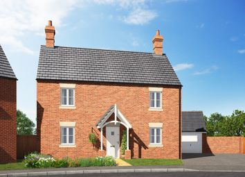 Thumbnail 4 bedroom detached house for sale in Stratford Road, Roade, Northampton