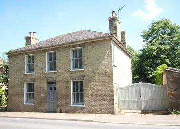 Thumbnail 4 bedroom detached house for sale in The Pond, Station Road, Haddenham, Ely