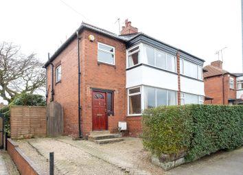 Thumbnail 3 bedroom semi-detached house for sale in Grange Park Road, Leeds, West Yorkshire
